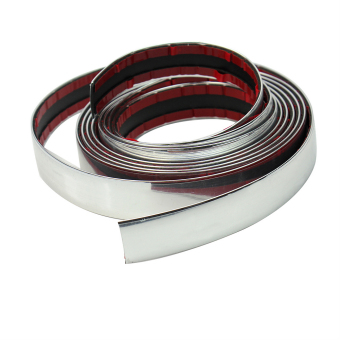 Applied 3m Chrome Self Adhesive Car Edging Styling Moulding Trim Strip 22mm Hot - Intl
