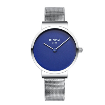 Binpai Korean-style waterproof steel quartz watch