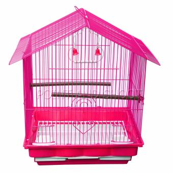 Bird Cage Small Hip (42 x 39 x 30cm) - Pink