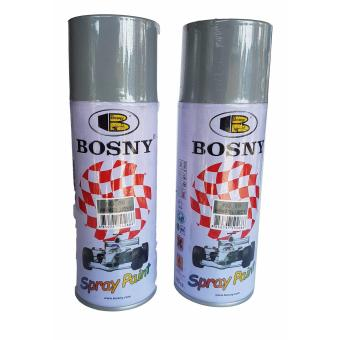 BOSNY Spray Paint No.68 Set of 2 (Primer Grey) 400cc.