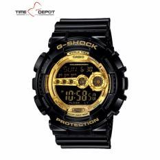 casio g shock casio g shock price list casio g casio g shock men s gold black resin strap watch gd 100gb 1d