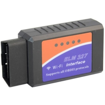 ELM327 WiFi OBD2 Car Diagnostics Scanner Code Reader for iPhone iOS AND Android - intl