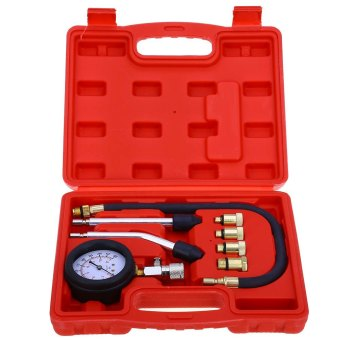 Engine Cylinder Pressure Gauge Diagnostic Tool Compression TesterSet