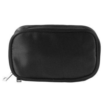 Essential Oil Bag Carrying Case Holder 10 Bottles 5/10/15ML StorageCosmetics Bags (Black) - intl