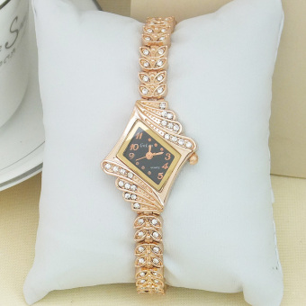 European and American full of crystals female women's fashion watch