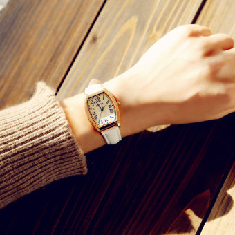 Exquisite Korean-style female girl's small couple's watches watch
