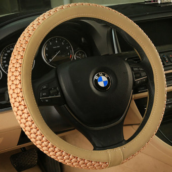 Fox viscose fibre car steering wheel Four Seasons summer to cover