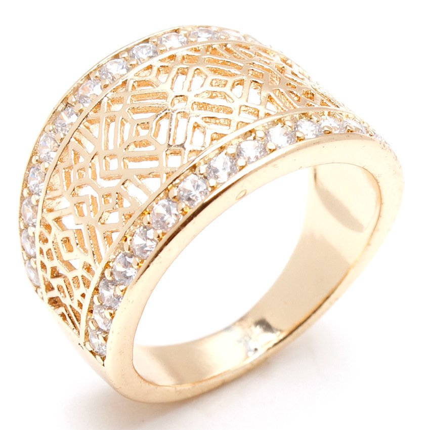 Glamorosa Queen Crown Ring Gold Lazada PH
