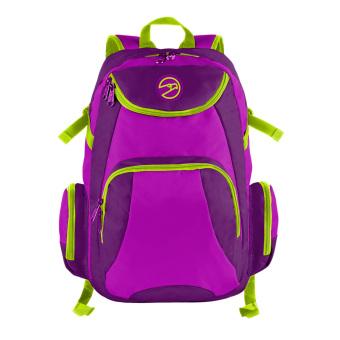 Hawk 4505 Backpack (Eggplant/Purple/Fluorescent Green)