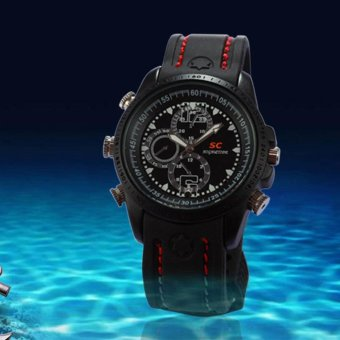 HD Waterproof Spy Watch Camera 720x480 DVR DV Video Recorder Camcorder - intl