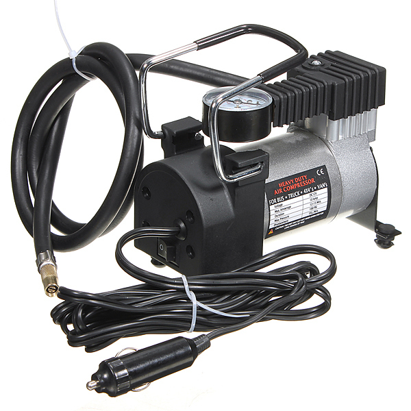 Heavy Duty Portable 12V 140PSI Car Tyre Auto Tire Inflator Pump