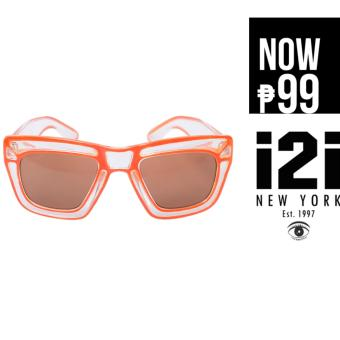 i2i New York Aqua Sunglasses (Orange)