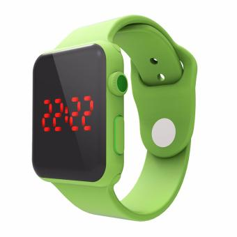Kingdo Newest LED Watch Date Sports Wristband For Kids
