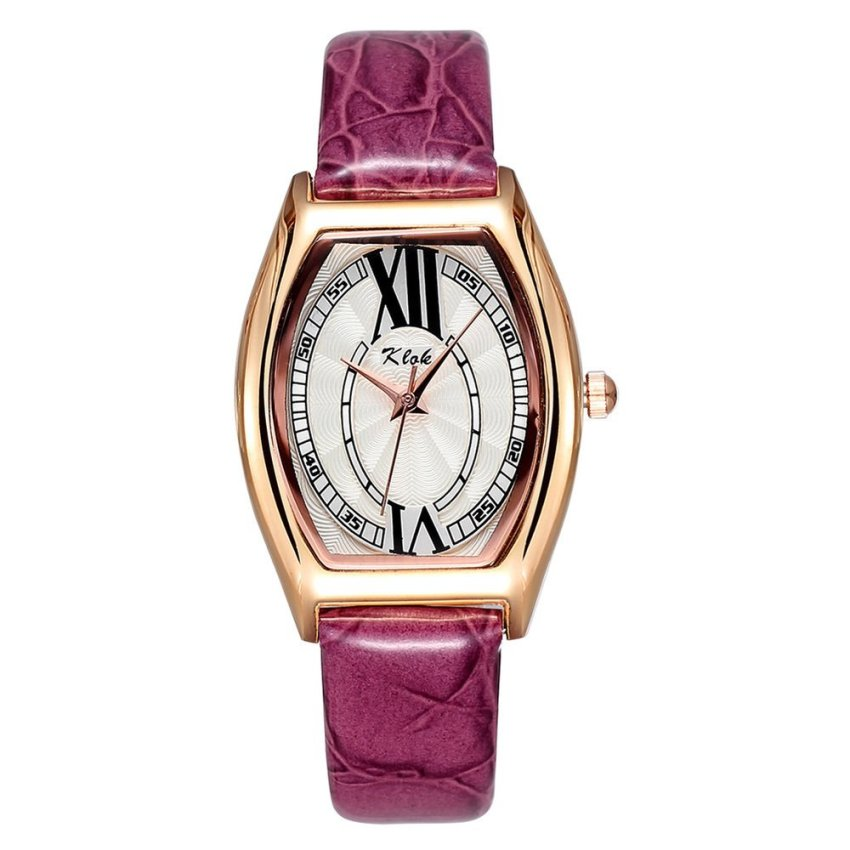 Fhulun philippines fhulun watches for sale prices reviews lazada for Violet leather strap watch