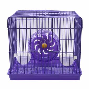 Mouse Mice Rat Hamster Cage V.3 Small -Purple (22 x 19 x 16cm)