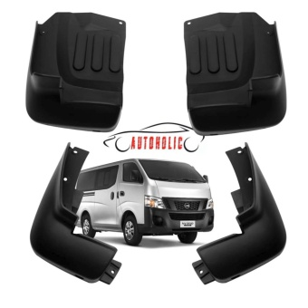 Mud Flap or Mudguard for Nissan Urvan NV350 (Black)