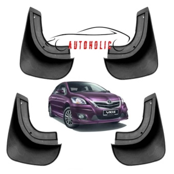Mud Flap Splash Guard for Toyota Vios 2008-2012