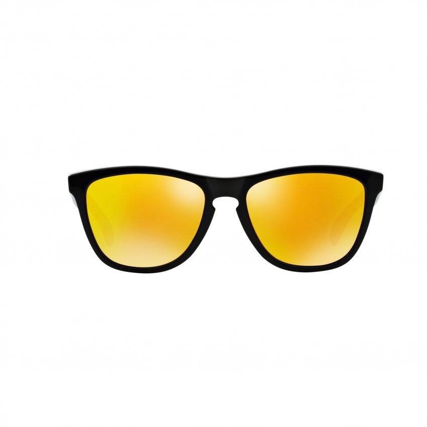 oakley sunglasses grey qypc  Oakley Sunglasses Frogskins OO9013 Polished Black Vr/46