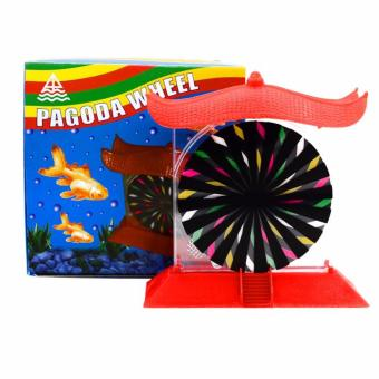 Pagoda Wheel Action Ornament Decoration for Aquariums