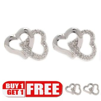 piedras everyday jewelry Buy 0ne take one 18k plated stud earring