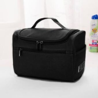 Portable large capacity waterproof cosmetic bag travel wash bag