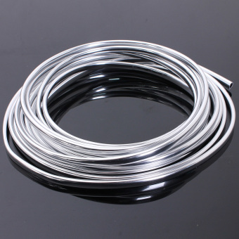 Qiaosha 6-Meter Chrome Moulding Trim Strip Car Door Edge Scratch
