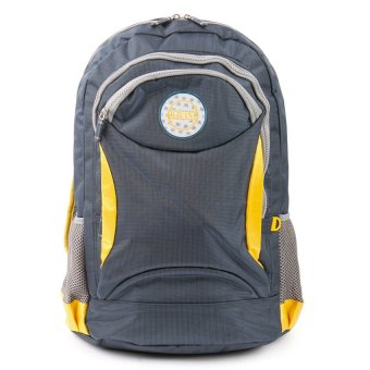Racini 3-733 Backpack (Gray/Yellow)
