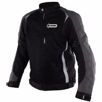 RYO RJ01 Motorcycle Jacket (Black/Gray)