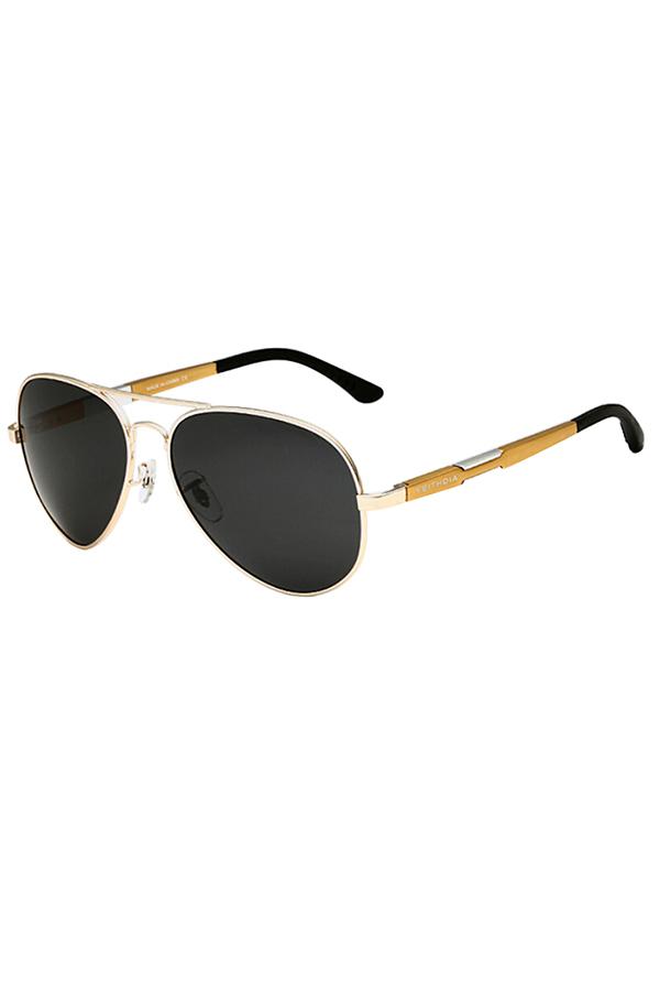 aviator polarized sunglasses ngy8  Sanwood Mens Outdoor Sports Shades Aviator Polarized Sunglasses Driving  Glasses Golden + Case  Lazada PH