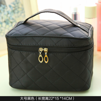 Simple small portable New style women's bag Korean cosmetic bag