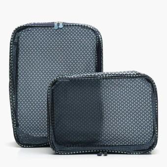 SM Stationery 2-piece Travel Luggage Organizer (Blue)