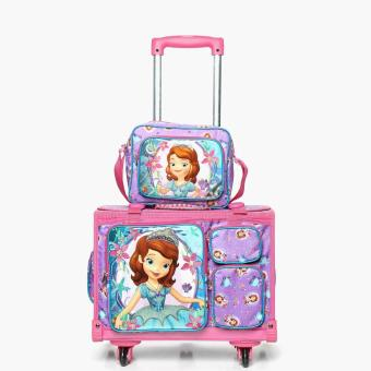 Sofia the First Girls Stroller with Lunch Bag