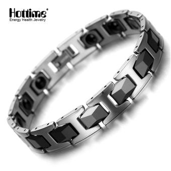 Tungsten Magnetic Bracelet Bio Health Migraine Pain Therapy- Intl
