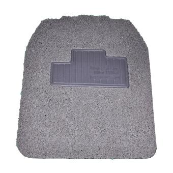 Universal Car Floor Mud Matting Complete set (5Pcs) Grey
