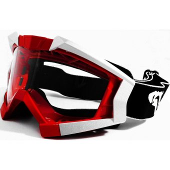 VEGA PL-1017 Motorcycle Goggles Motocross MX Racing (Red)