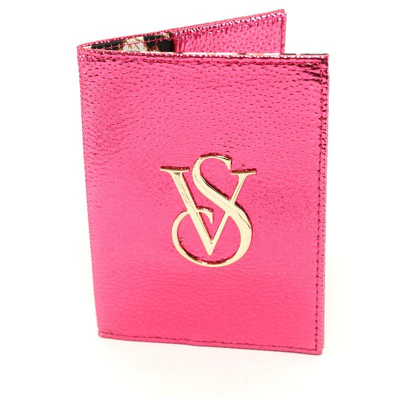 Souvent Victorias Secret Passport Holder (Metallic Pink)   Lazada PH EA62