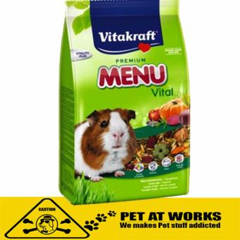 Vitakraft Menu Vital Guinea Pig Food (400g) for Hamster and RabbitFood