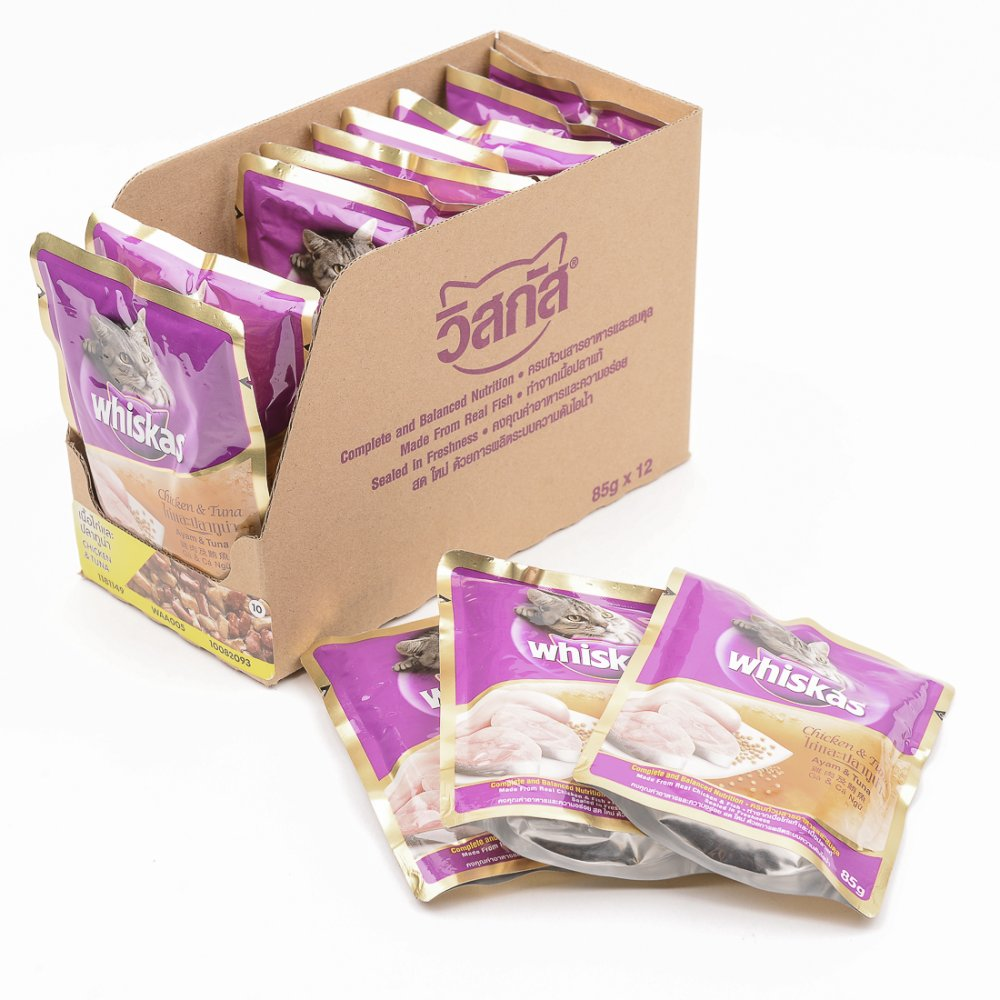 Dog crib for sale philippines - Whiskas Chicken And Tuna Wet Cat Food In Pouch 85g 12 Pouches Box