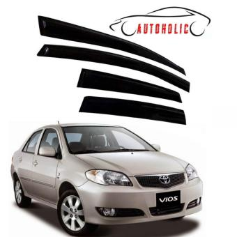 Window Visor for Toyota Vios 2003 to 2007