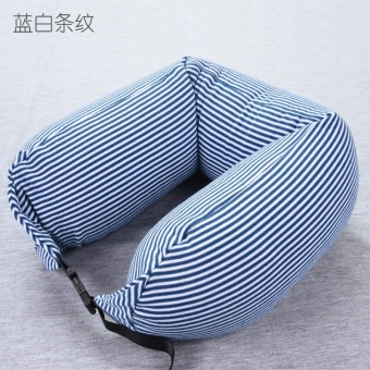 Women Men U-shape Travel Pillow Long Neck Pillows Office SleepingAir Flight Pillow - intl