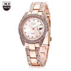 5c9bab48f4ee PHP 514. Xinew 2518 Women Quartz Watch Magnifier Date Display Artificial  Diamond Dial WristwatchPHP514. PHP 577. Coconie Fashion XINEW Ladies Women  Girl ...