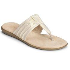 Aerosoles Chlairvoyant Sandals (Fabric Gold)