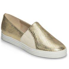 Aerosoles Saltwater Slip-Ons (Metallic Gold)