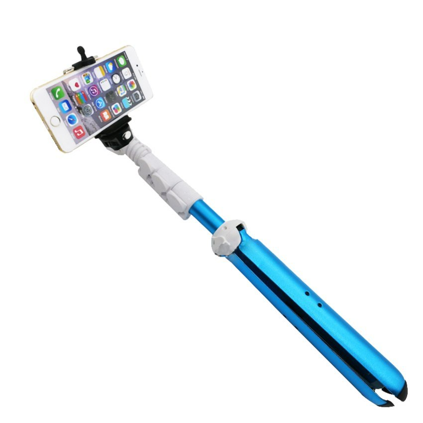 monopod selfie stick with bluetooth shutter and 2 pieces lithium batteries black lazada ph. Black Bedroom Furniture Sets. Home Design Ideas