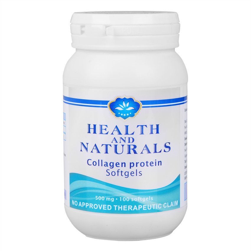 Health And Naturals Collagen Protein Softgels Review