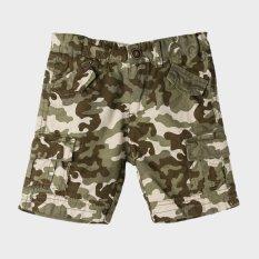 jusTees Boys Camouflage Shorts