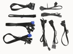 SilverStone PP05-E Short Flat Cable Set for SilverStone Modular PSUs