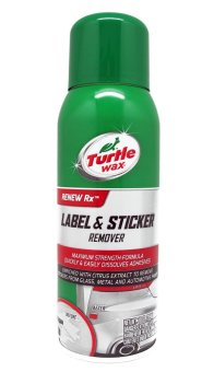 Turtle Wax Label And Sticker Remover Safe On Paint