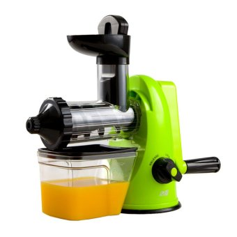 Slow Juicer For Leafy Greens : XBootsMalone Manual Slow Juicer (Green) Lazada PH