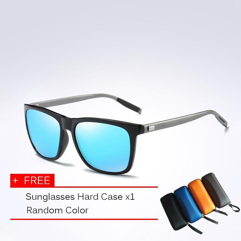 1420c34f7d7 Reedoon Unisex Polarized Sunglasses UV400 Mirrored Lens Metal Frame Vintage  Sun Glasses Men Women For Driving
